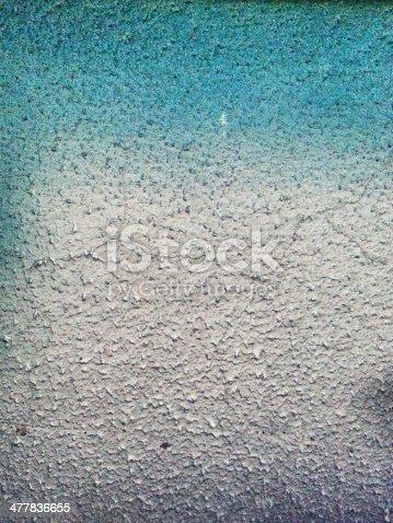 istock Blue wall graffiti 477836655