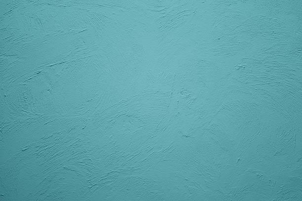 rétro fond de mur bleu - état solide photos et images de collection