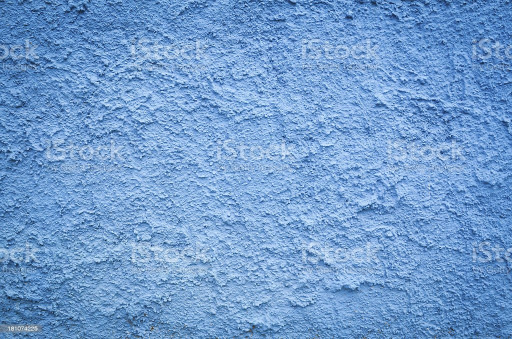 Blue Wall Texture royalty-free stock photo