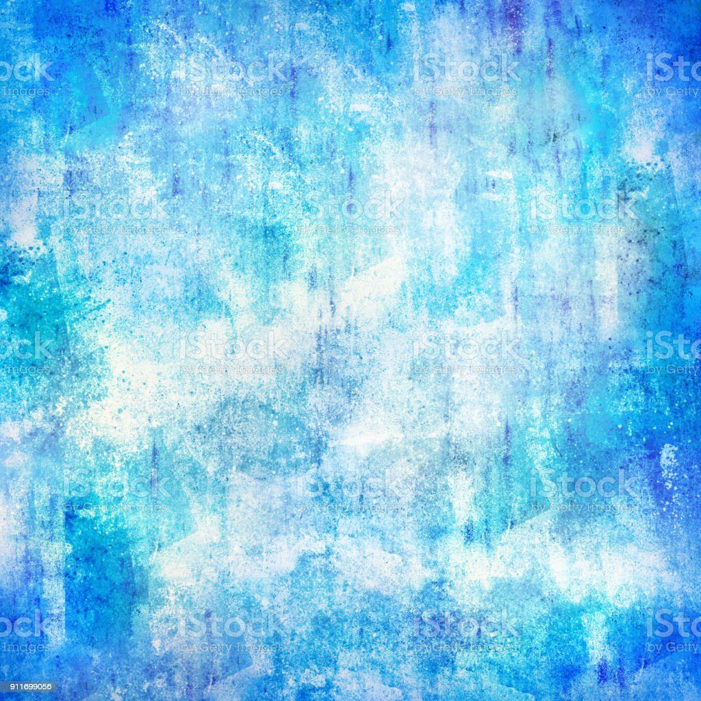 blue wall texture square stock photo