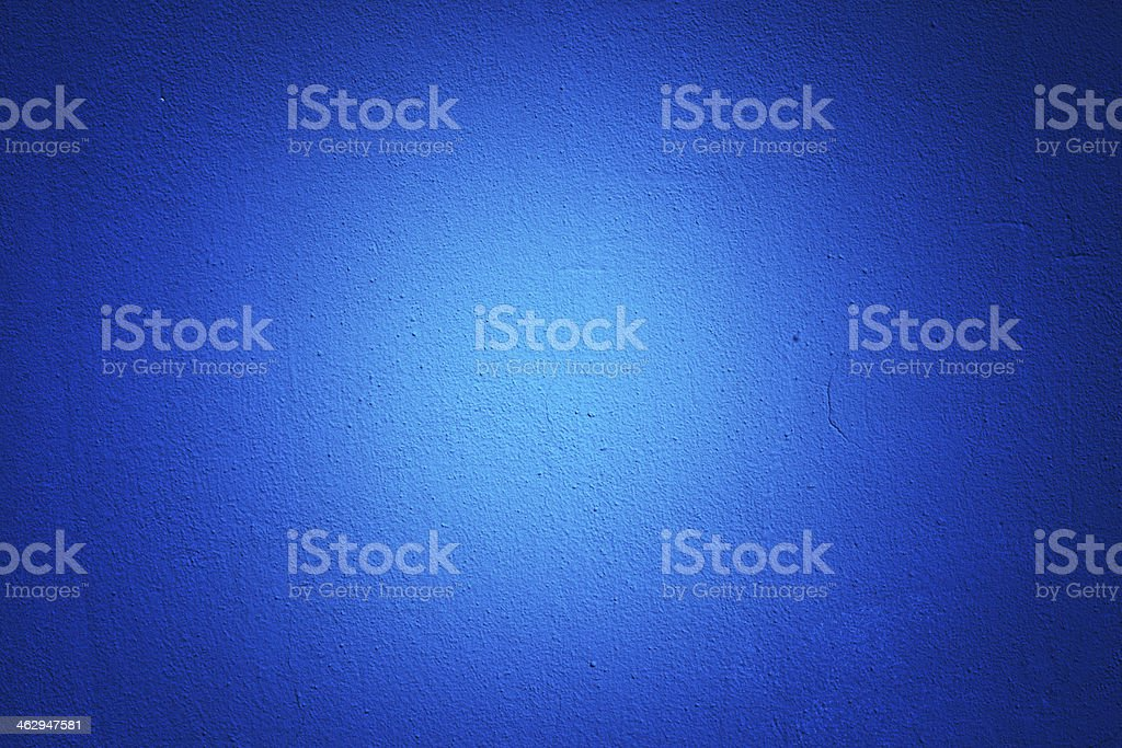 Blue Wall Texture Vignette stock photo