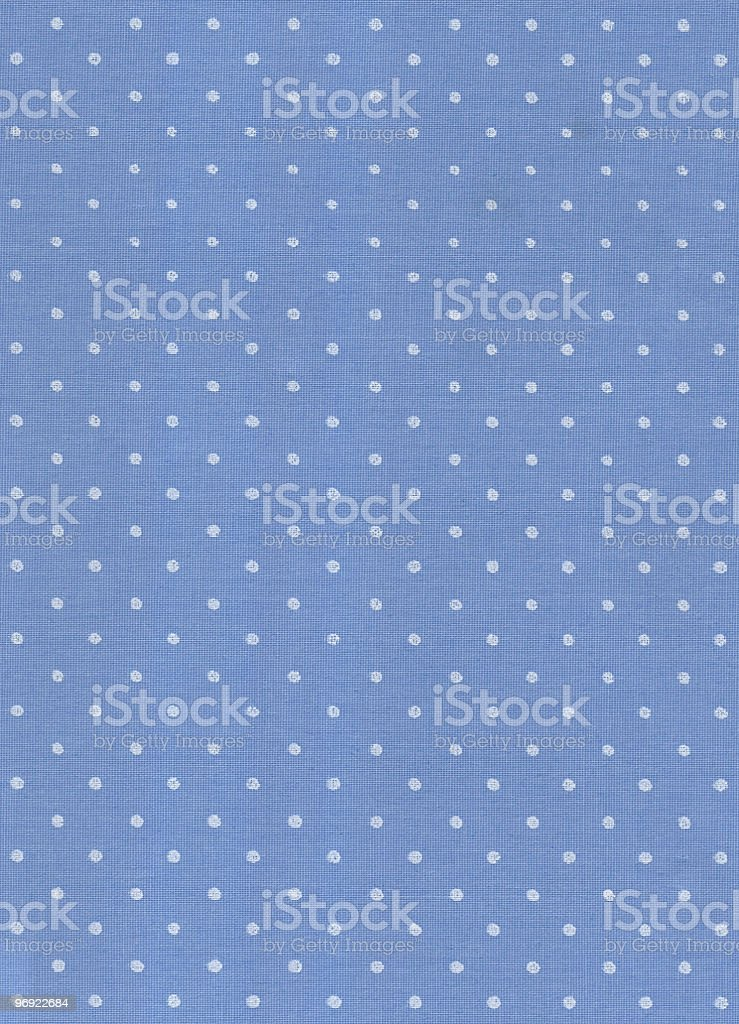 Blue wallpaper with white dots royalty-free stock photo