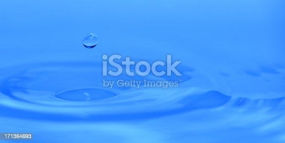 istock Blue Water Background - XXLarge 171364693