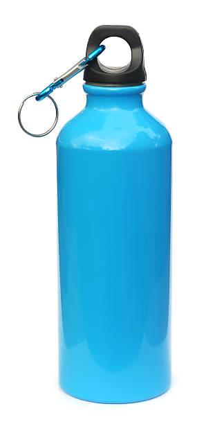 garrafa de água azul - sports water bottle - fotografias e filmes do acervo