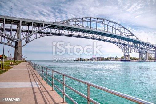 istock Blue Water Bridge 463362485