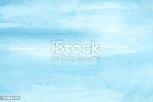 852187968 istock photo Blue Water Color Background 693633966