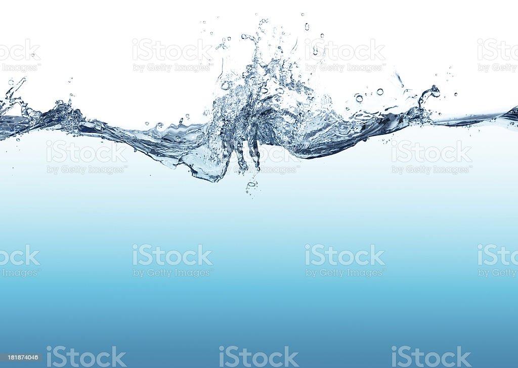 Blue Wasser – Foto