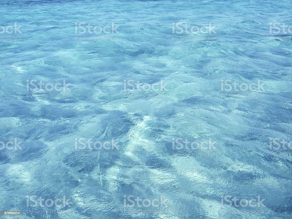 blue water royalty-free stock photo