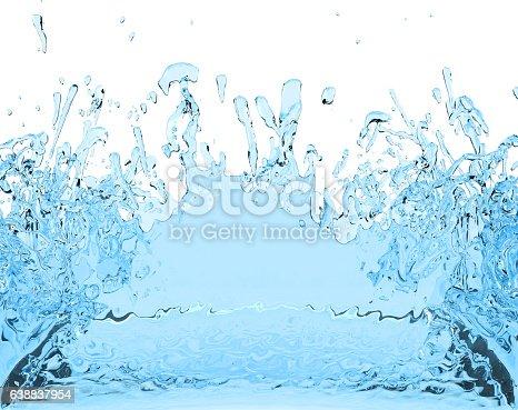 155146839istockphoto blue water splash juice drink 3D illustration 638837954