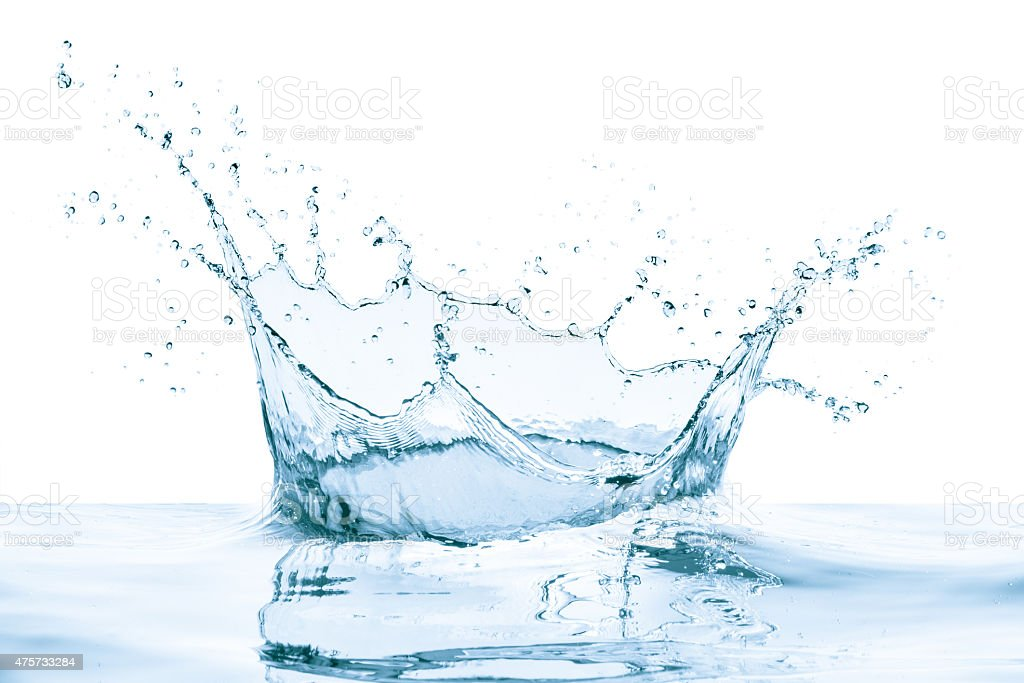 blue water splash – Foto