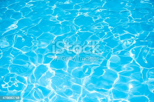 istock Blue water surface 476683748