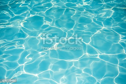 istock Blue water surface 476729492