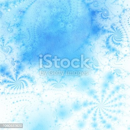682471362 istock photo Blue watercolor abstract background 1060532620