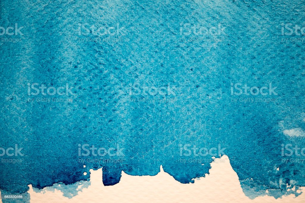 Blue Watercolor Background. foto stock royalty-free