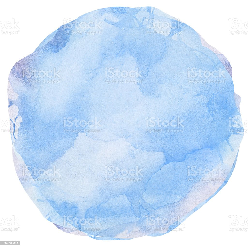 4e395b5a70 Niebieska szczotka udar splash Koło wodne. element projektu zbiór zdjęć  royalty-free