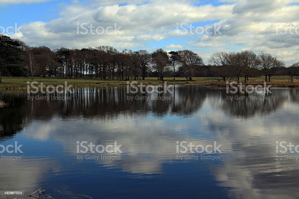 Blue Waters stock photo