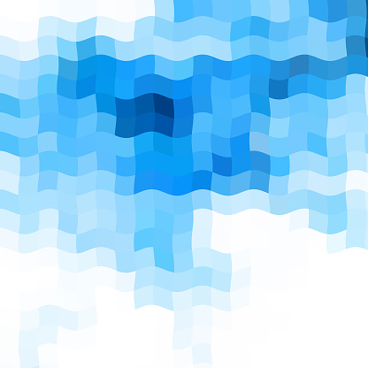 abstract blue wave backgrond