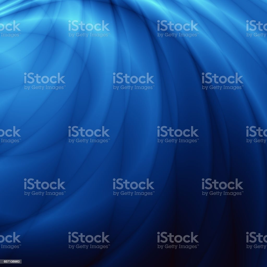 Blue wave elegance abstract pattern template stock photo