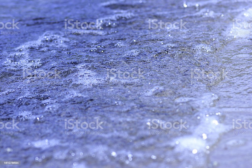 Blue Wave royalty-free stock photo