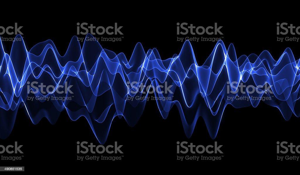 Blue Wave stock photo