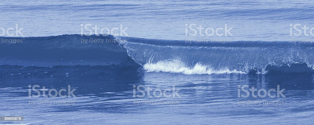 Blue Wave stock photo