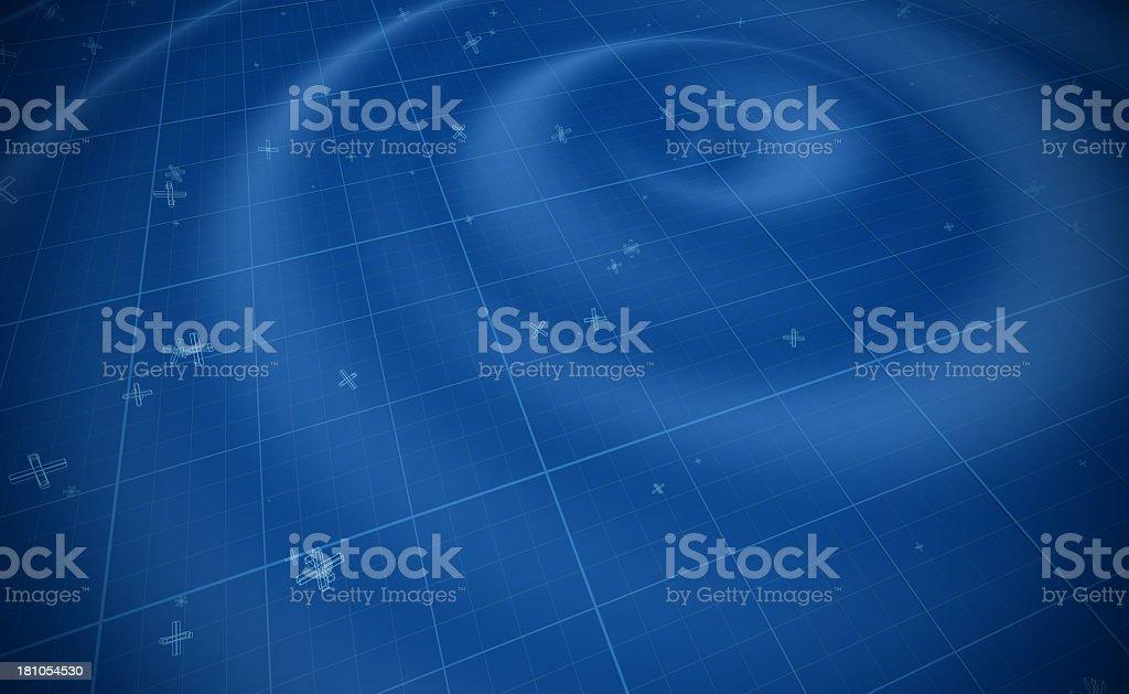Blue wave transmission background royalty-free stock photo