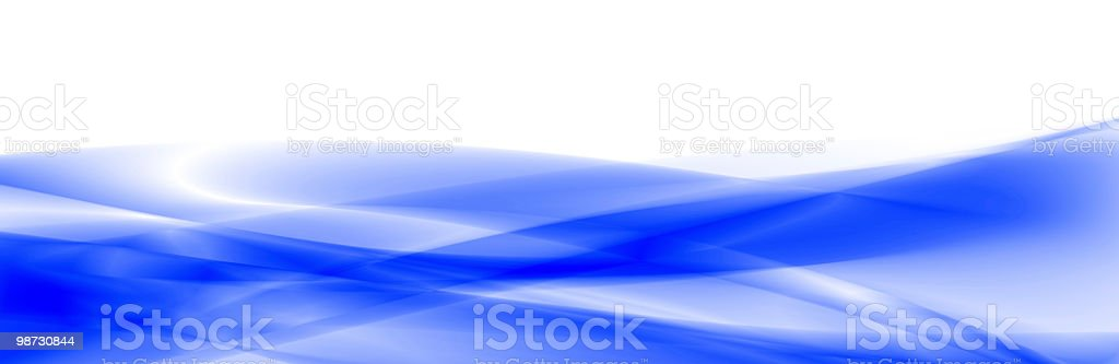 Blue waves abstract background royalty-free stock photo
