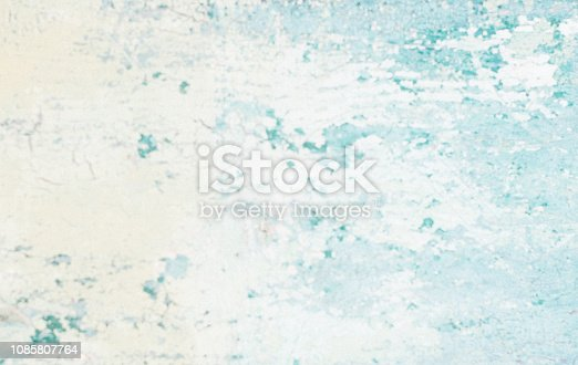 istock Blue  White Abstract Art Painting Background 1085807764