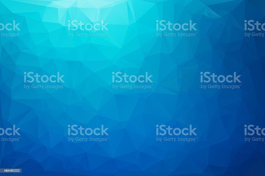 Blue White  Polygonal Mosaic Background,  Creative  Business Design Templates stock photo