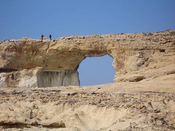 Blaue Fenster auf Gozo (Malta – Foto