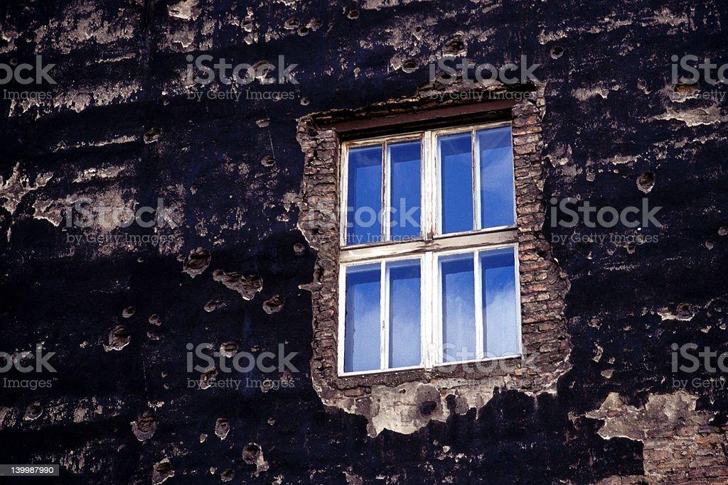 Blaue Fenster – Foto