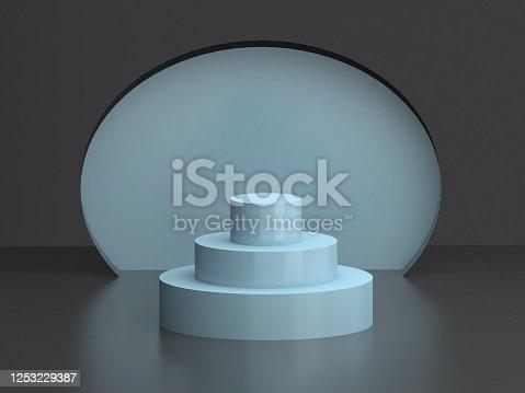 1129130415 istock photo blue winner podium 1253229387