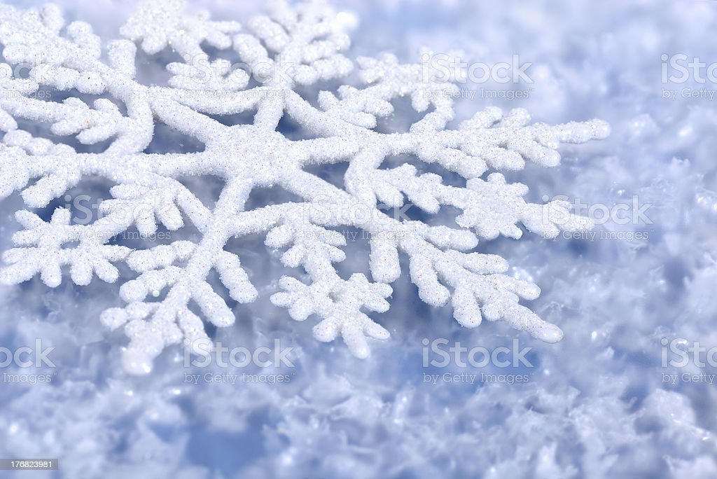 Blue winter background royalty-free stock photo