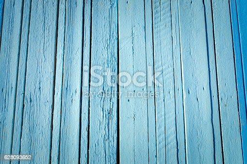 471504772 istock photo Blue wood plank surface texture 628093652