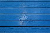 istock Blue wood texture and background. 1010068702