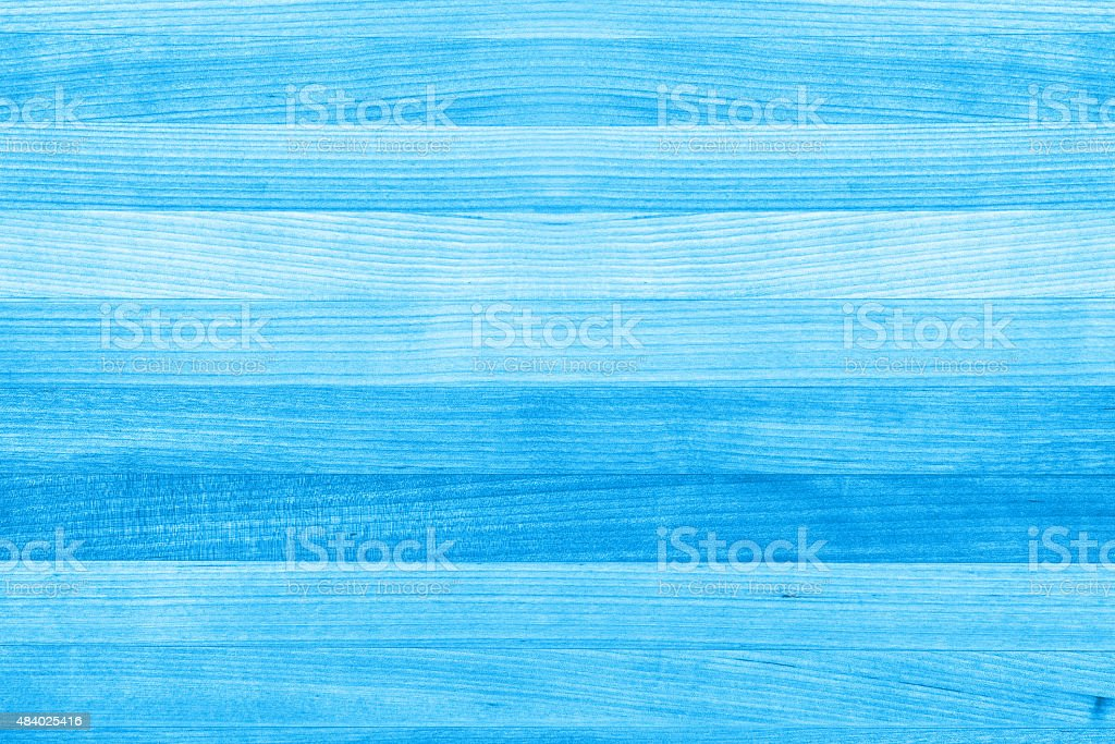 Blue Wood Texture Background stock photo