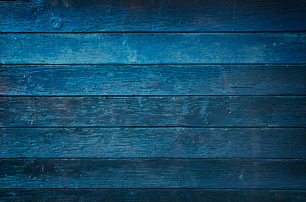 blue wooden background - blue stock pictures, royalty-free photos & images