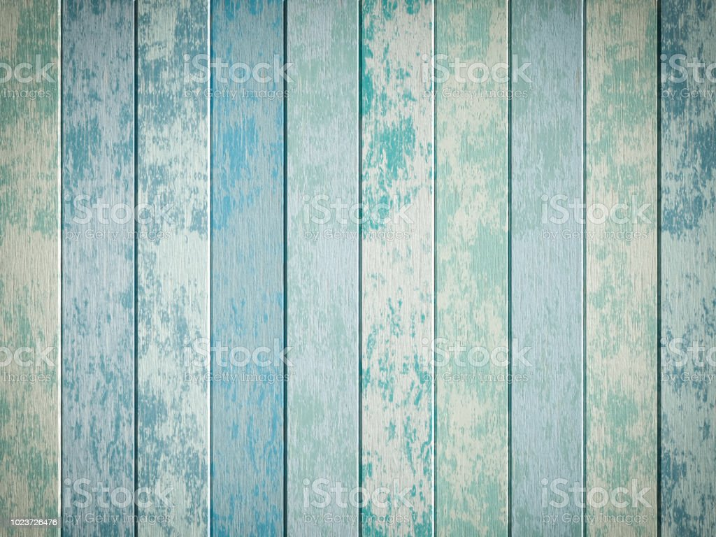 Blue wooden backgrounds stock photo
