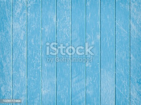 istock Blue wooden backgrounds 1028112464