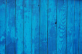istock Blue wooden planks 470482376