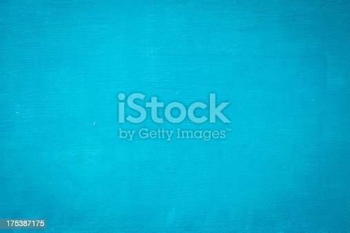 istock Blue Wooden Wall Texture 175387175