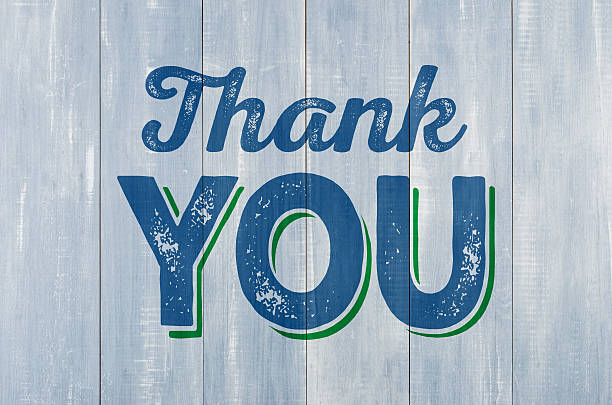 Royalty free thank you pictures images and stock photos istock blue wooden wall with the inscription thank you stock photo voltagebd Choice Image