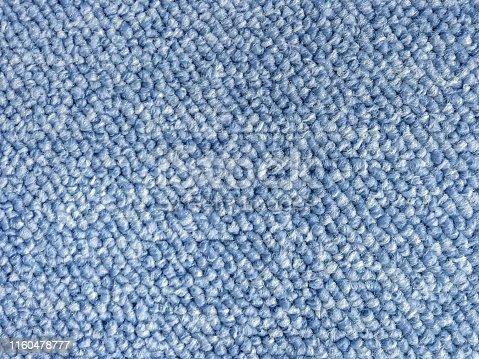 Close up loop pile wool berber carpet texture pattern