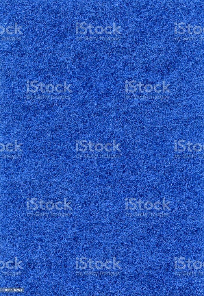 Blue wool. royalty-free stock photo