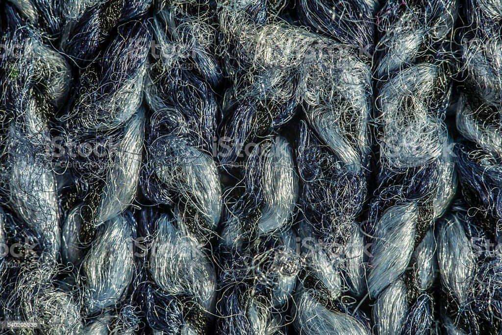 blue wool stock photo
