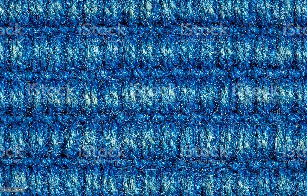 blue wool texture stock photo