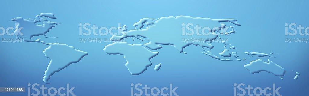 Blue World - Background royalty-free stock photo