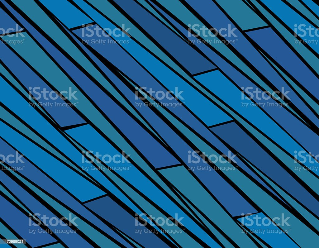 Blue Zebra Stripes royalty-free stock photo