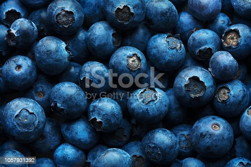 istock Blueberries Background 1057931392