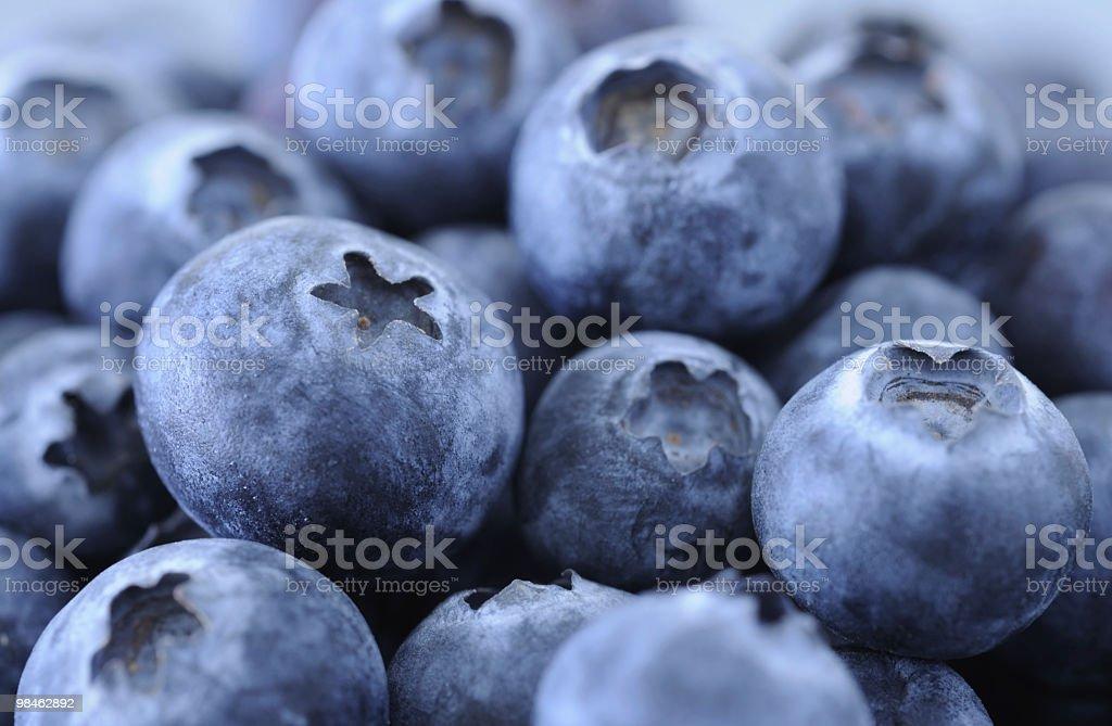 Blueberries closeup royalty-free stock photo